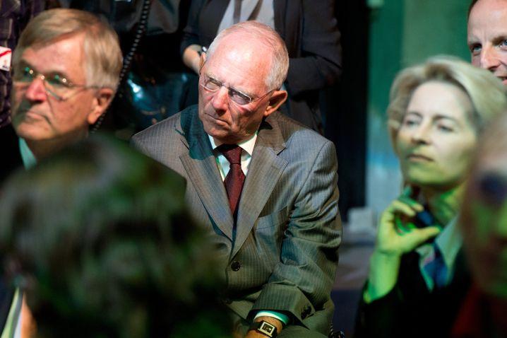 Wolfgang Schäuble, Ursula von der Leyen