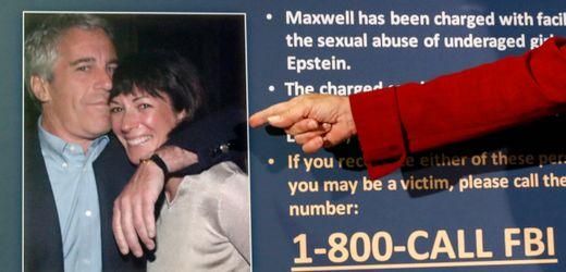 Fall Jeffrey Epstein: Ghislaine Maxwell soll