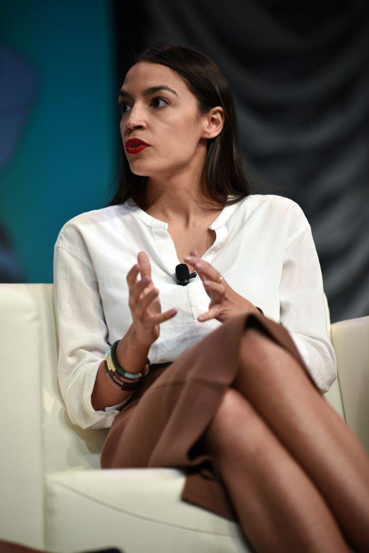 Demokratin Alexandria Ocasio-Cortez