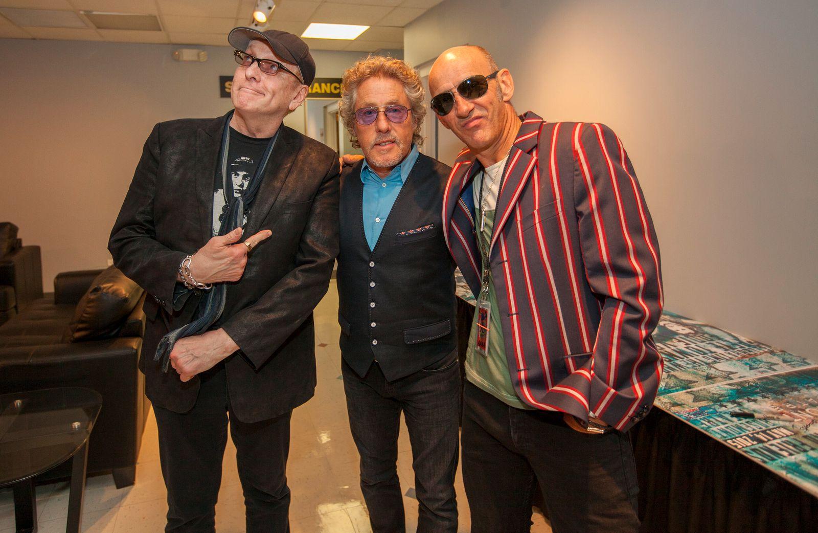 Pete Townshend - Rick Nielsen, Roger Daltrey, Simon Townshend