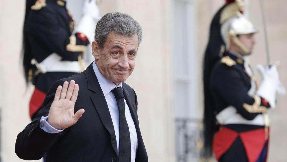 Frankreichs Ex-Präsident Nicolas Sarkozy: