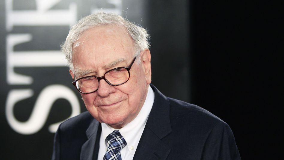 Investor Buffett: Der 83-Jährige muss sich erstmals der Börse geschlagen geben