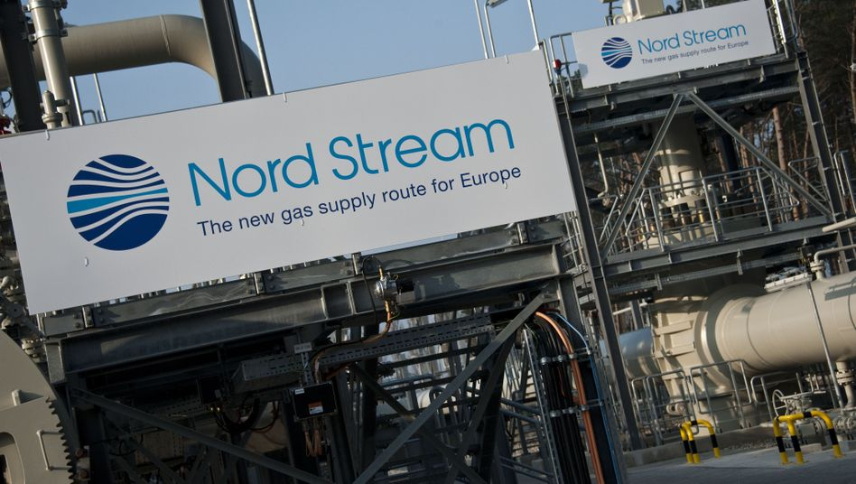 The €7.3 billion Nord Stream pipeline was officially launched by Chancellor Merkel and President Medvedev.