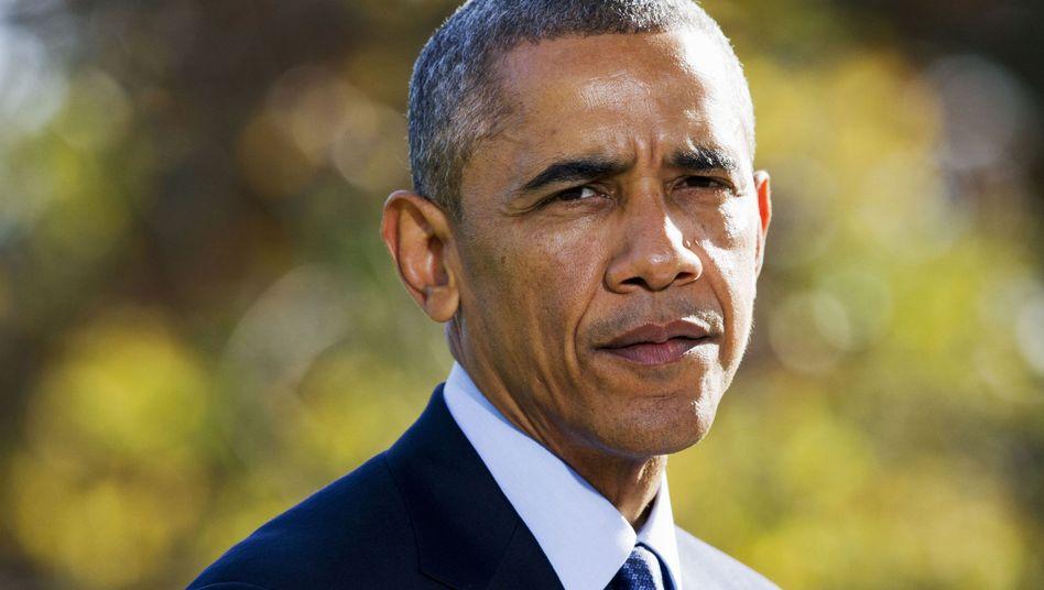 Barack Obama: Präsident ohne Mehrheit