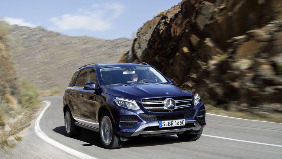 Auch der Mercedes-Benz GLE ist vom Rückruf betroffen