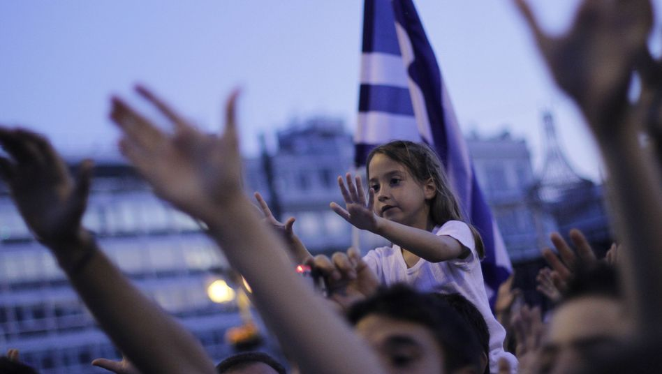 Demonstrators in Athens on Sunday: Will the EU leaves the Greeks empty-handed?