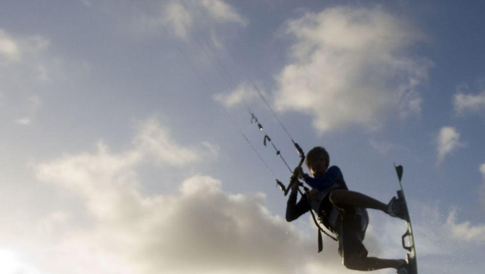 Kitesurfer auf Aruba (Symbolfoto)