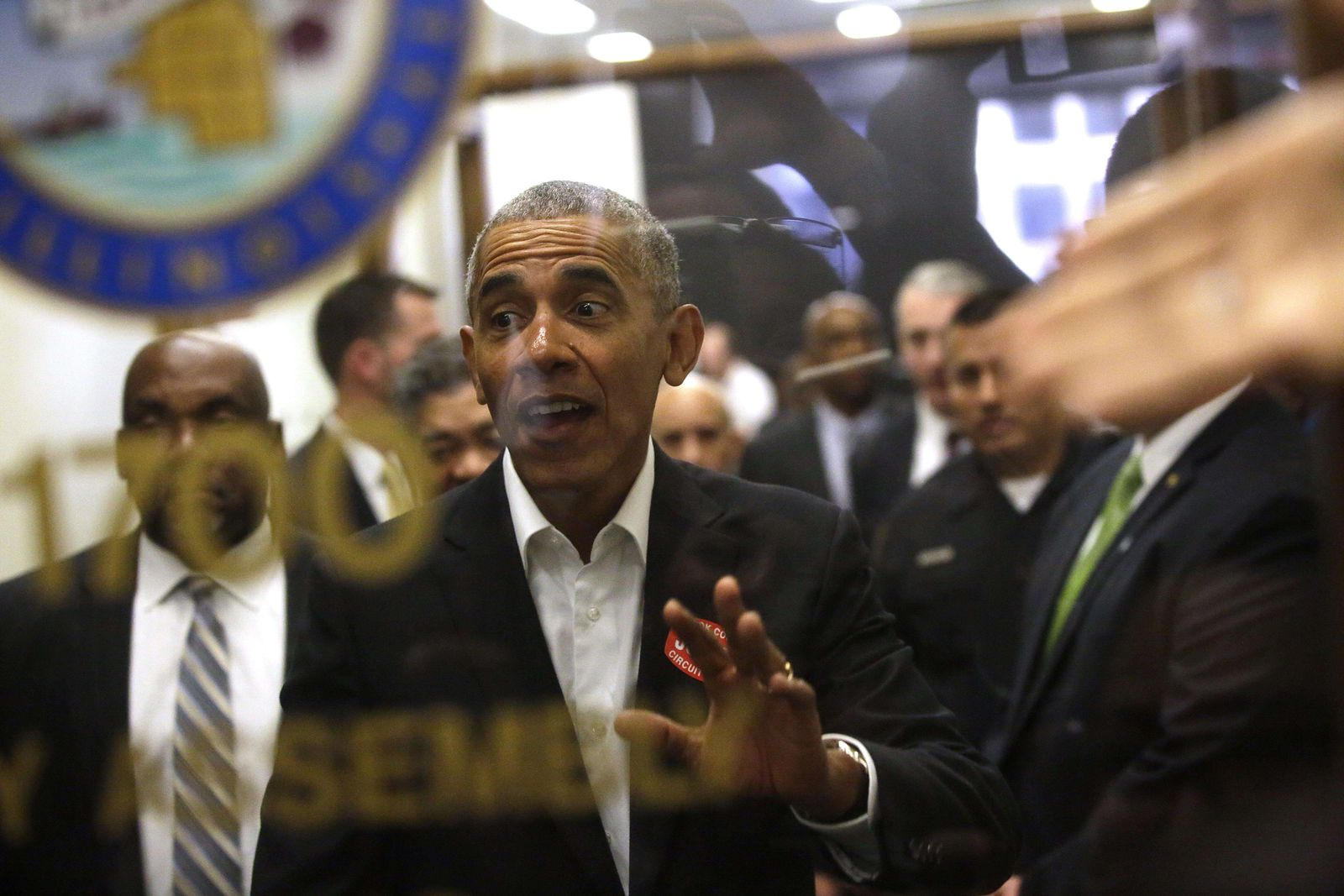 US-FORMER-PRESIDENT-OBAMA-REPORTS-FOR-JURY-DUTY-IN-CHICAGO