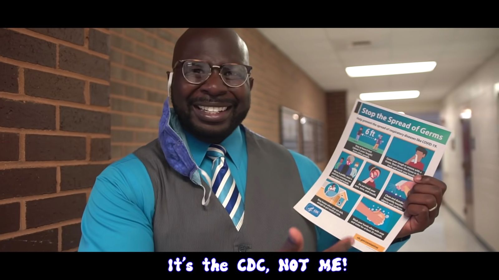 Dr. Lee presents Can't Touch This Covid Parody SCREENSHOT