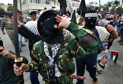 Trauernde in Ramallah: An der Grenze zum Sicherheitsalptraum