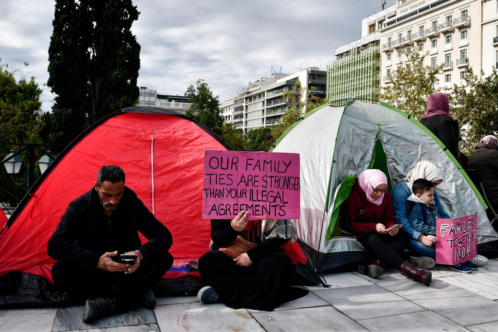 Familiennachzug/ Migranten/ Flüchtlinge