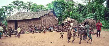 Tanz in Kangabe: Musik ist ein wichtiger Bestandteil des Bayaka-Lebens