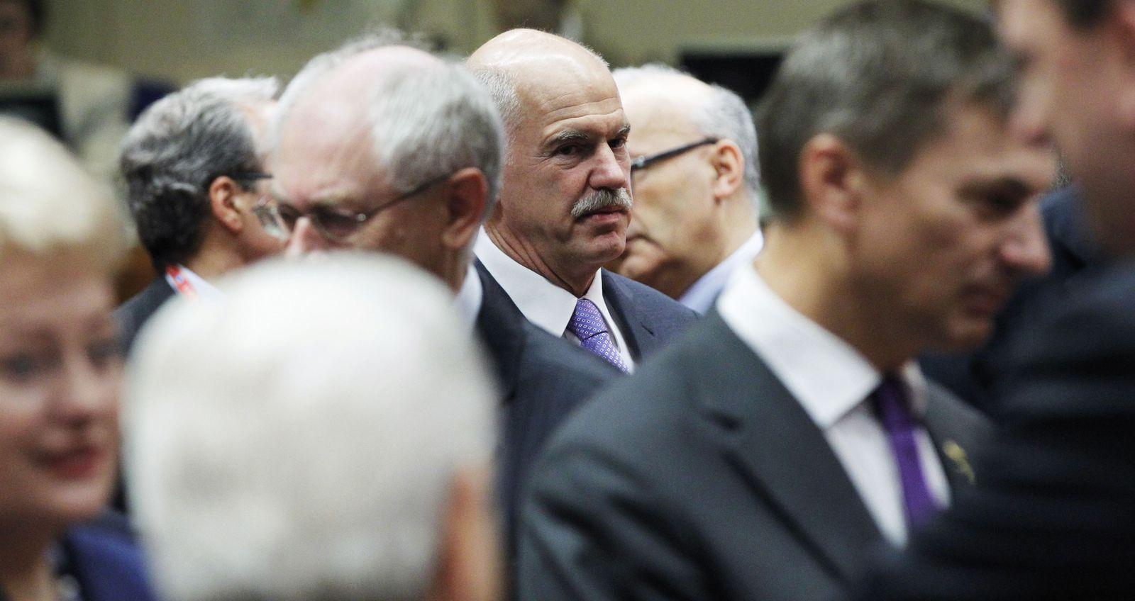 Papandreou EU Summit