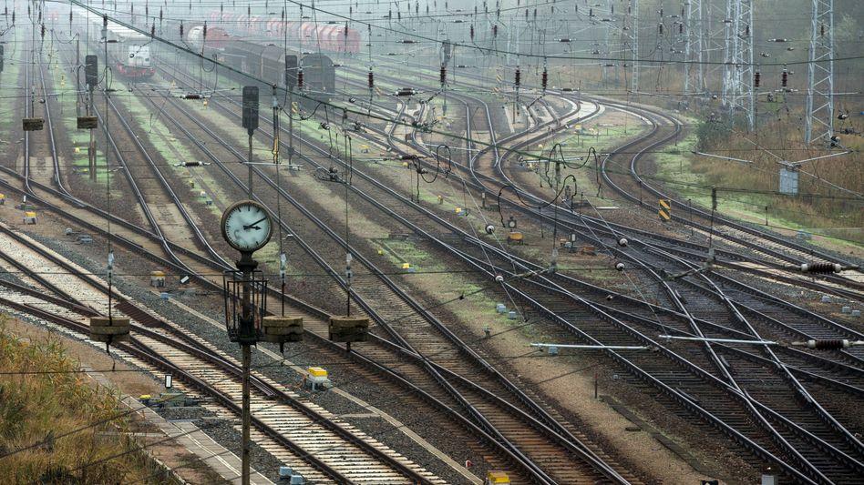Güterbahnhof (Symbolbild)