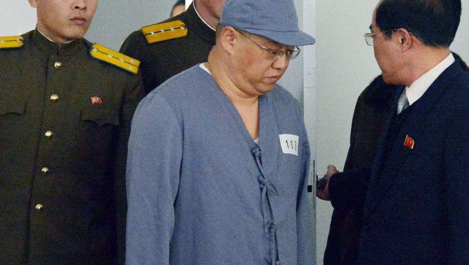 Häftling Bae (Archivbild): Seit Jahren in Nordkorea festgesetzt