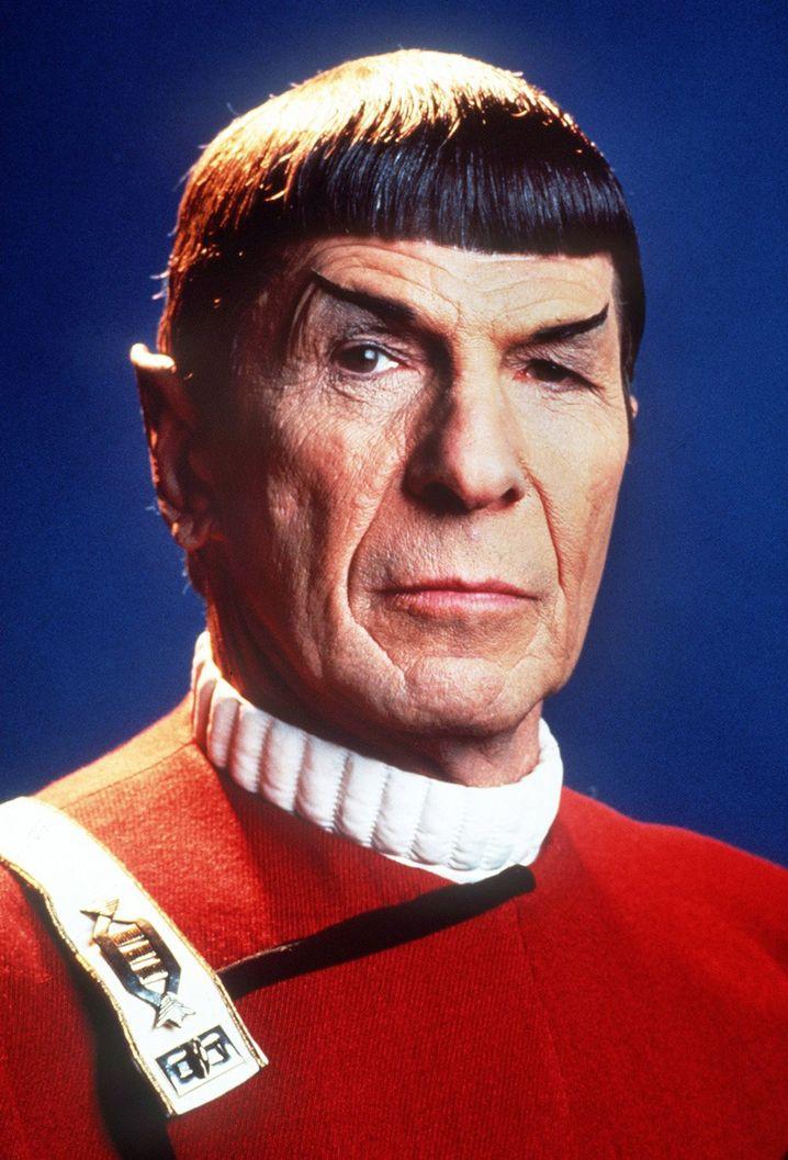 Mr Spock- Darsteller Nimoy