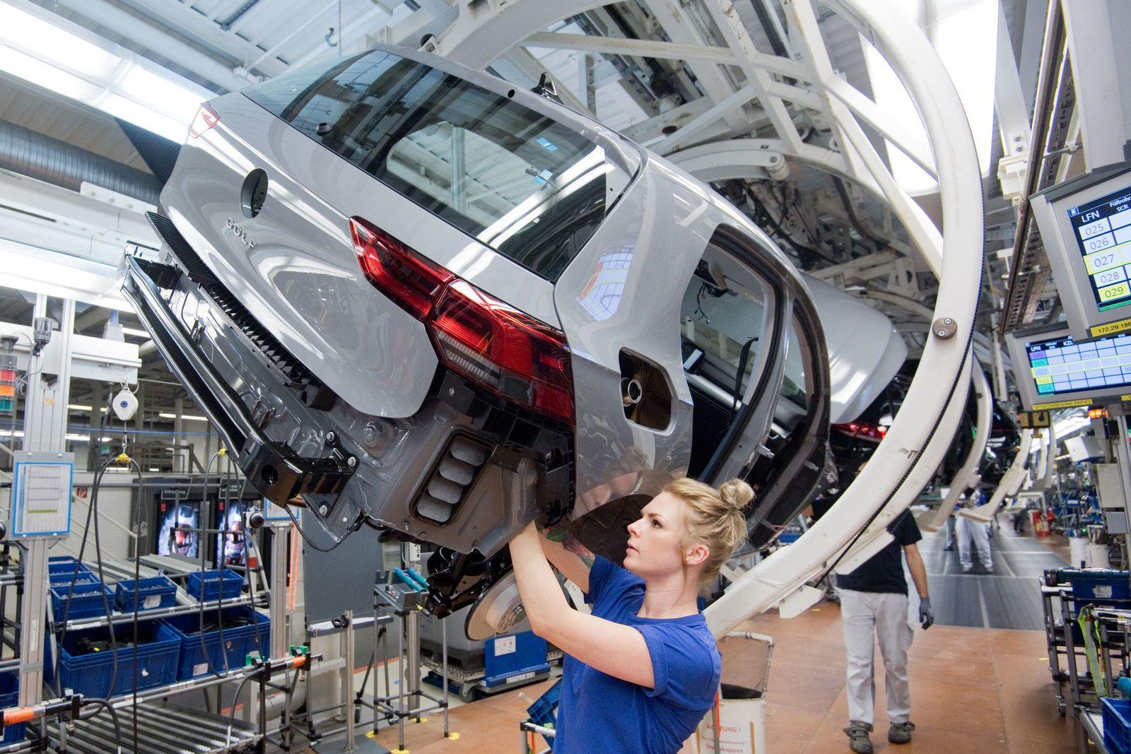 Volkswagen Golf 8 - Produktion