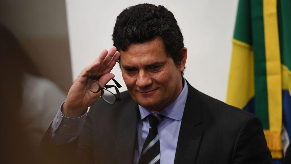 """Sergio Moro: """"Ich packe meine Sachen und erkläre meinen Rücktritt"""""""