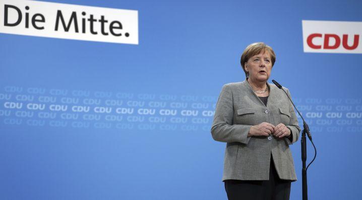 Merkel in der CDU-Zentrale