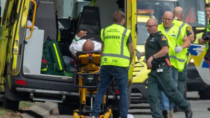 Terror in Christchurch: Angriff auf zwei Moscheen