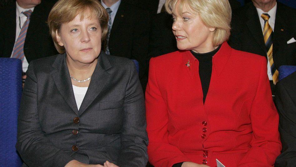 CDU-Politikerinnen Merkel und Steinbach