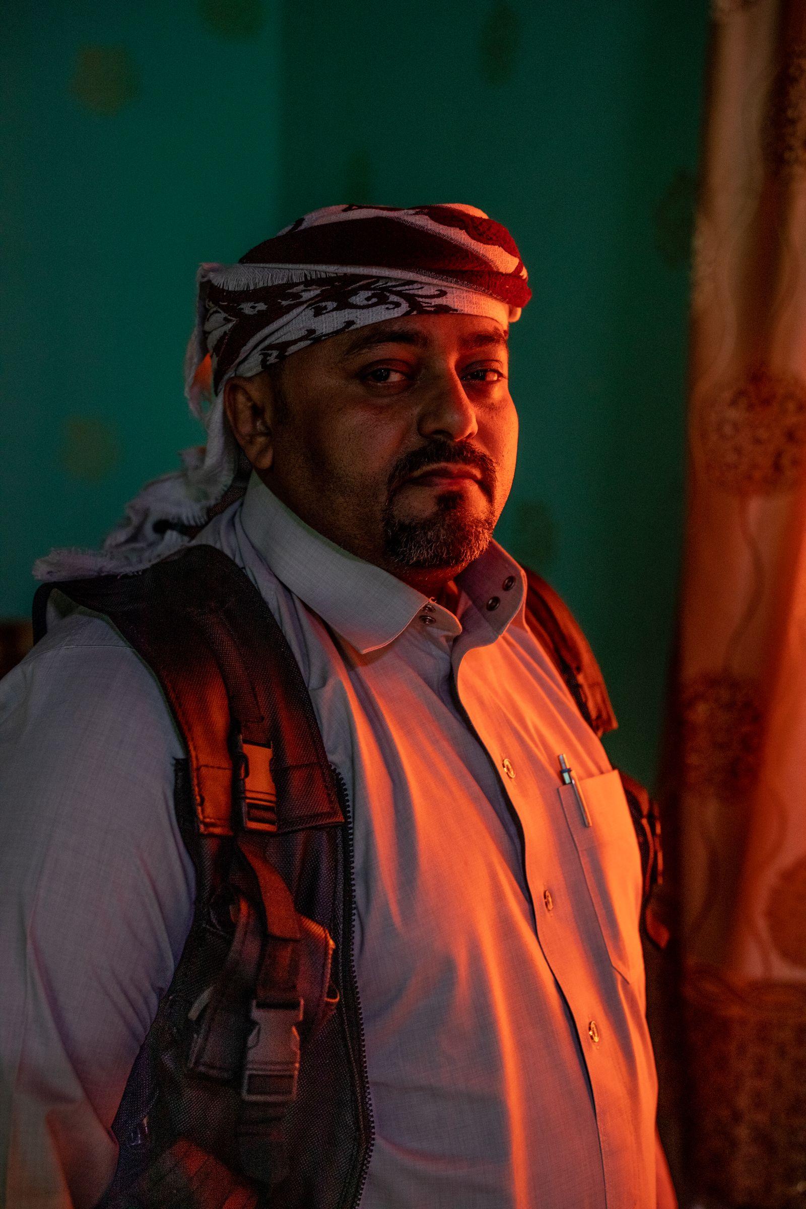 EINMALIGE VERWENDUNG SPIN DER SPIEGEL 51/2018 S. 82 Yemen Scheich Ahmed