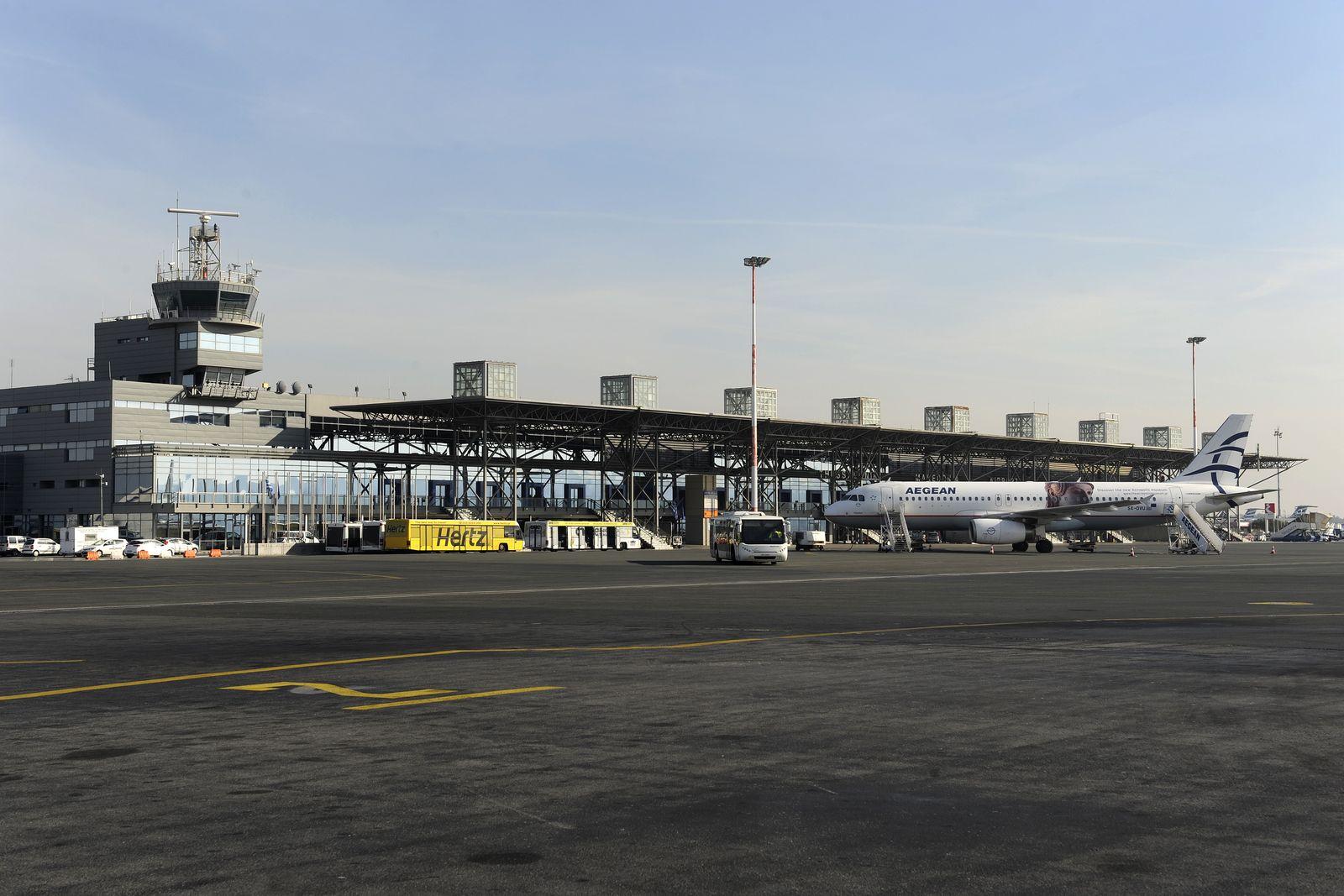 Griechenland Flughafen Thessaloniki/ Fraport