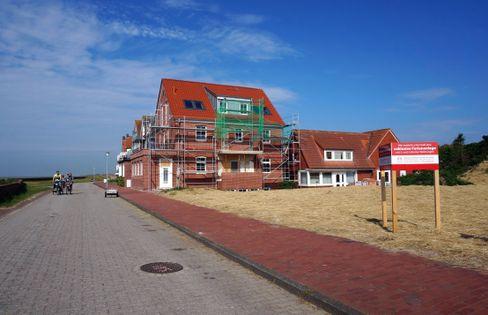 Neubauten an der Juister Billstraße