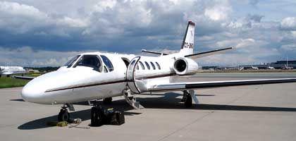 Die Cessna Citation Bravo von Netjets: Der kleinste Flieger des Charteranbieters