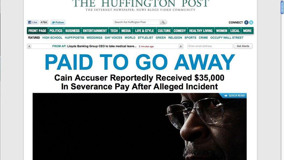 """US-Website der """"Huffington Post"""": Bald auch eine deutsche Ausgabe online"""