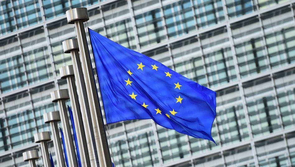 EU-Flagge in Brüssel: Mehr als vier Tage dauerte der Sondergipfel