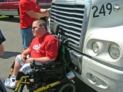 Rollstuhlfahrer Carpenter: Höllenritt überstanden
