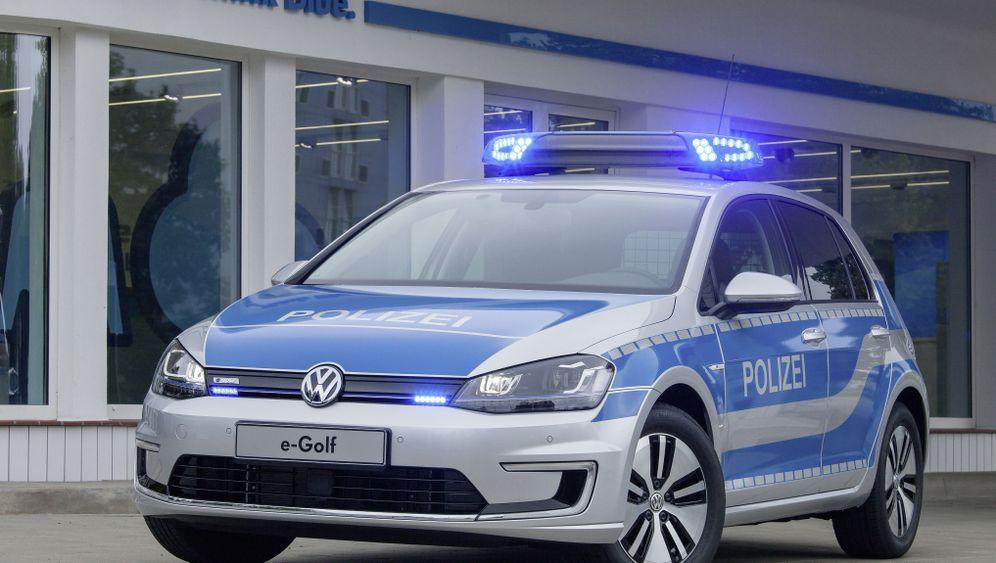 E-Golf für die Helgoländer Polizei: Elektrisch übers Eiland