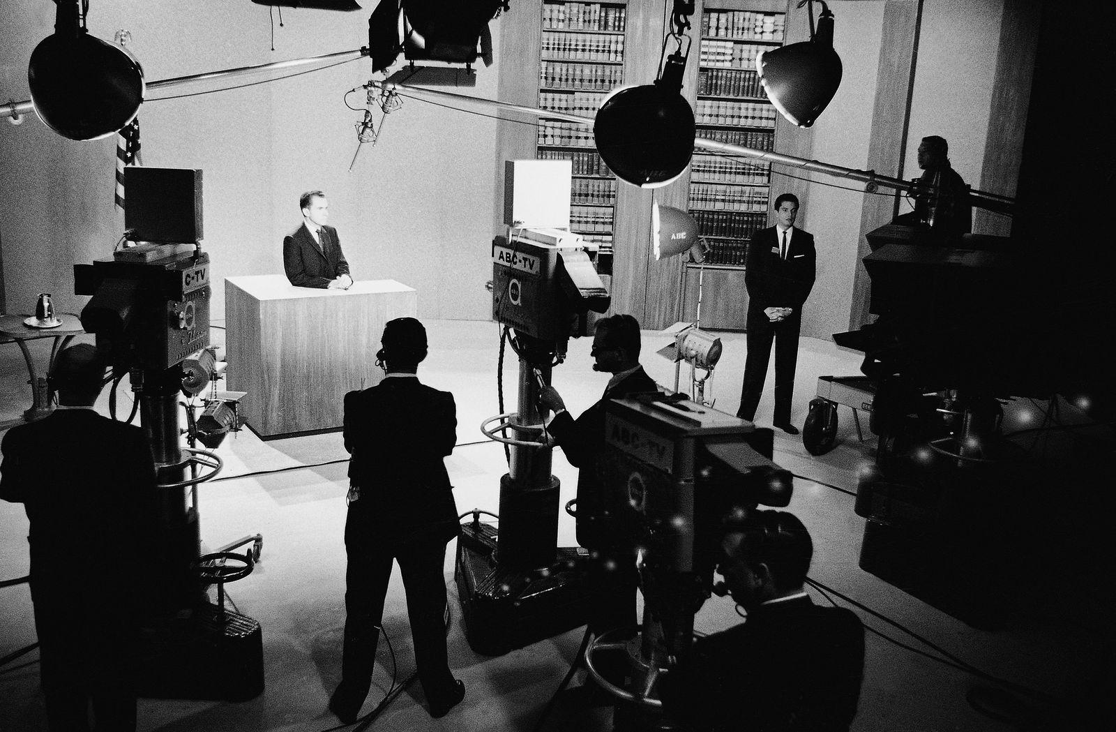 TV Debate Richard Nixon, John F. Kennedy