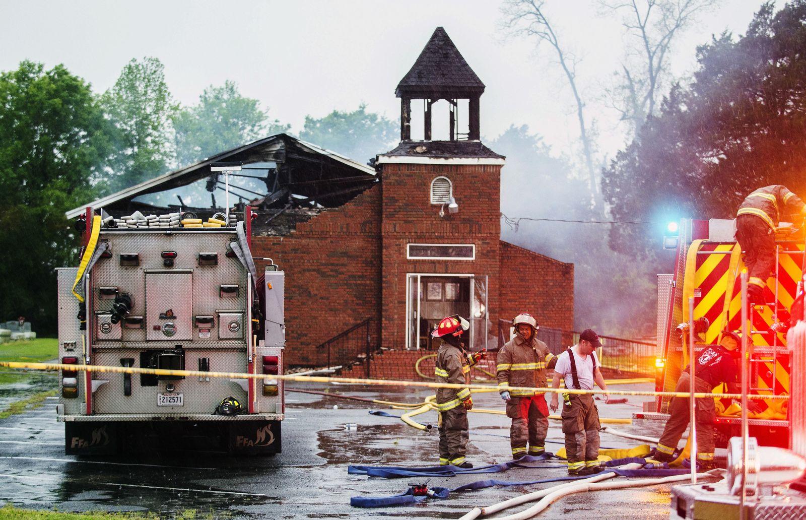 Fires Black Churches