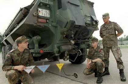 Spürpanzer Fuchs: Ausgerüstet für den ABC-Ernstfall