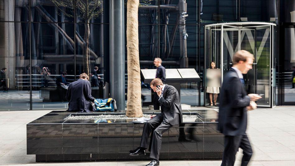 Londoner Bankenviertel: Leidenschaft, Verantwortung, Leistung