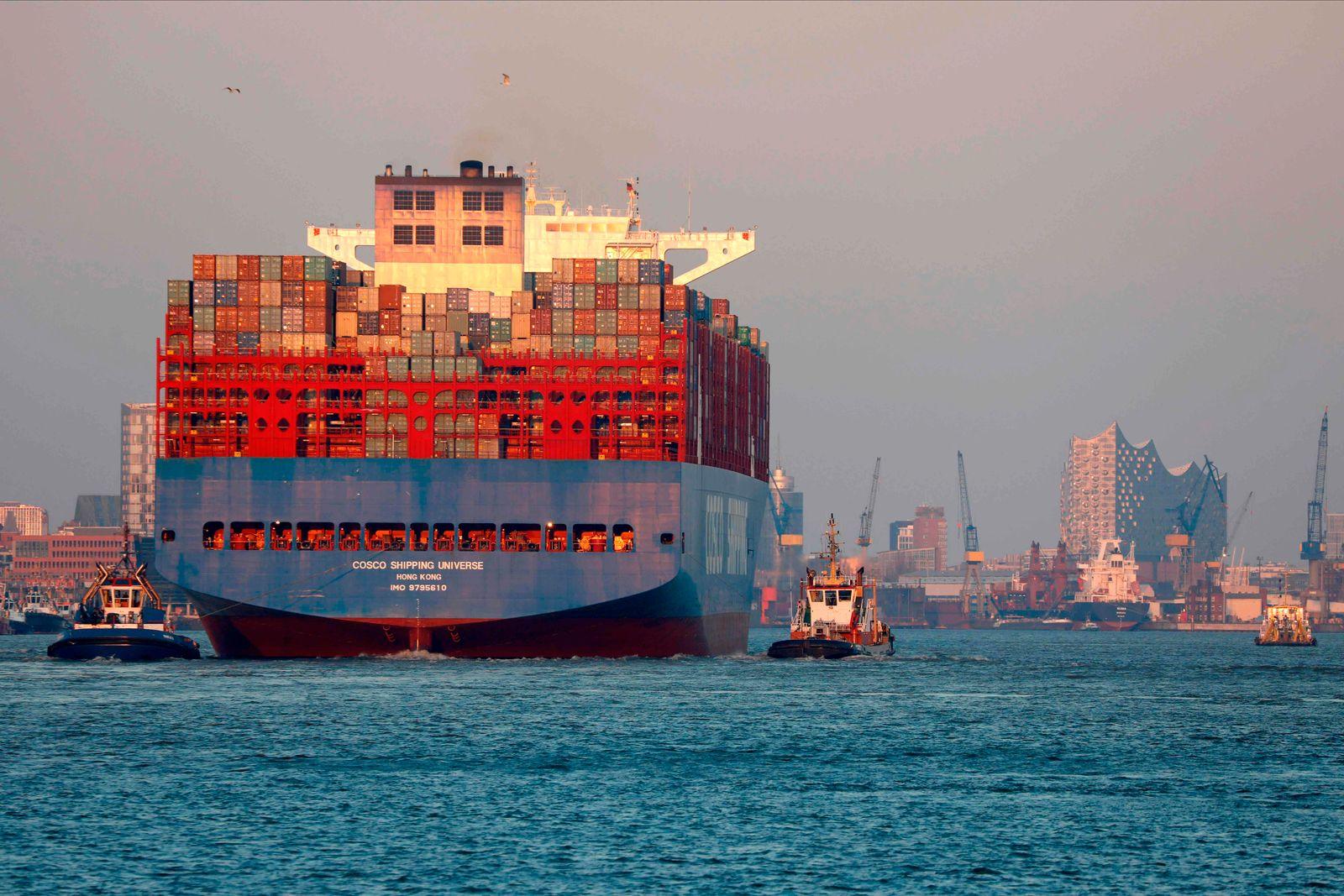 GERMANY-HEALTH-VIRUS-ECONOMY-TRANSPORT-SHIPING
