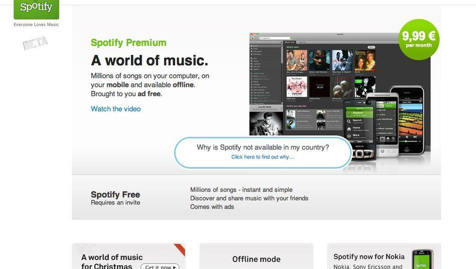 Musikdienst Spotify: Mehr Wachstum durch externe Apps?