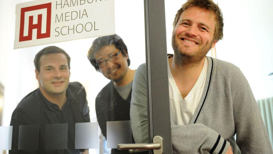 Max Zähle, Sin Huh und Stefan Gieren: Absolventen erhalten Studenten-Oscar