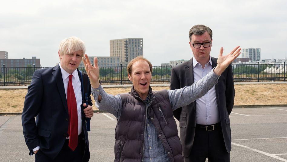 """Benedict Cumberbatch feiert den Brexit - in seiner Rolle als Populismus-Stratege in dem Spielfilm """"Brexit - Chronik eines Abschieds"""""""