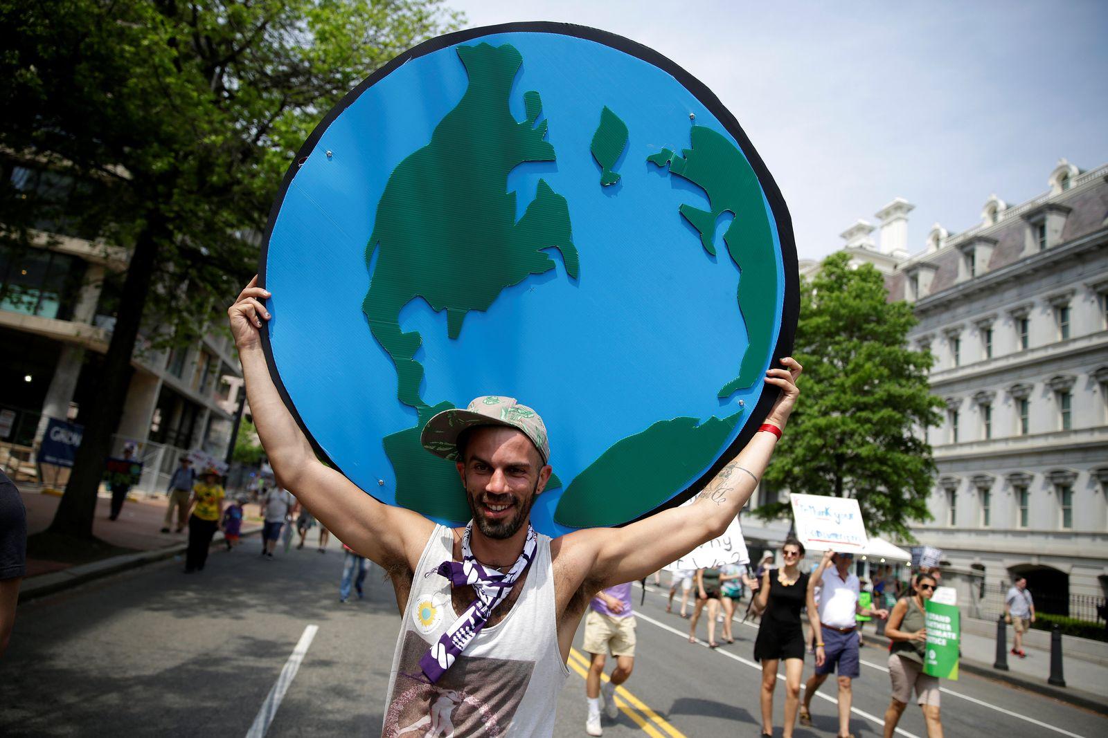 Washington/ Klima/ Demonstration