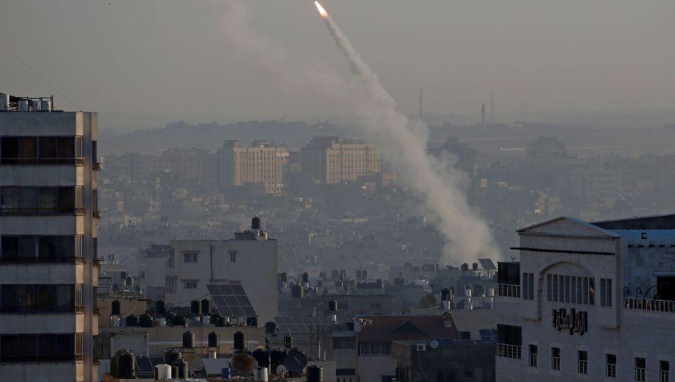 """Rakete aus Gaza abgefeuert: Die Operation der Israelis haben dazu gedient, """"eine drohende Gefahr"""" abzuwenden"""