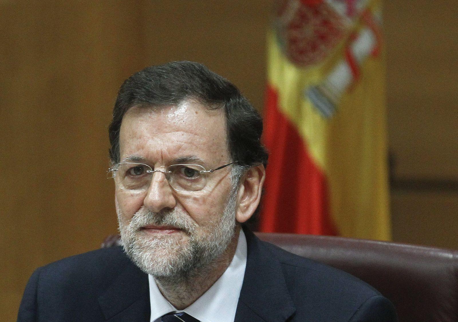 Rajoy Spanien Finanzkrise