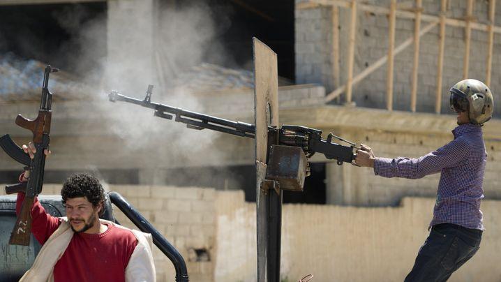Krieg in Libyen: Hilferuf aus Misurata