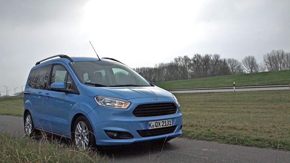 Ford Tourneo Courier Kompakter Hochdachkombi Mit Zwei