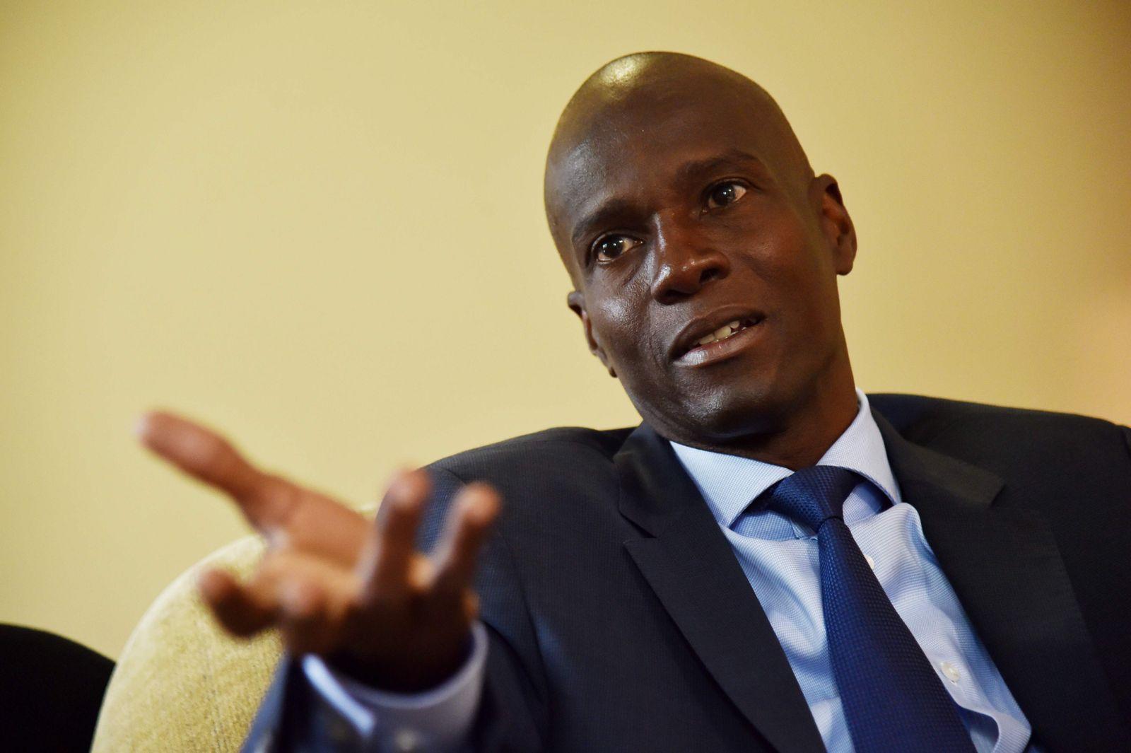 Jovenel Moïse/ Präsident/ Haiti