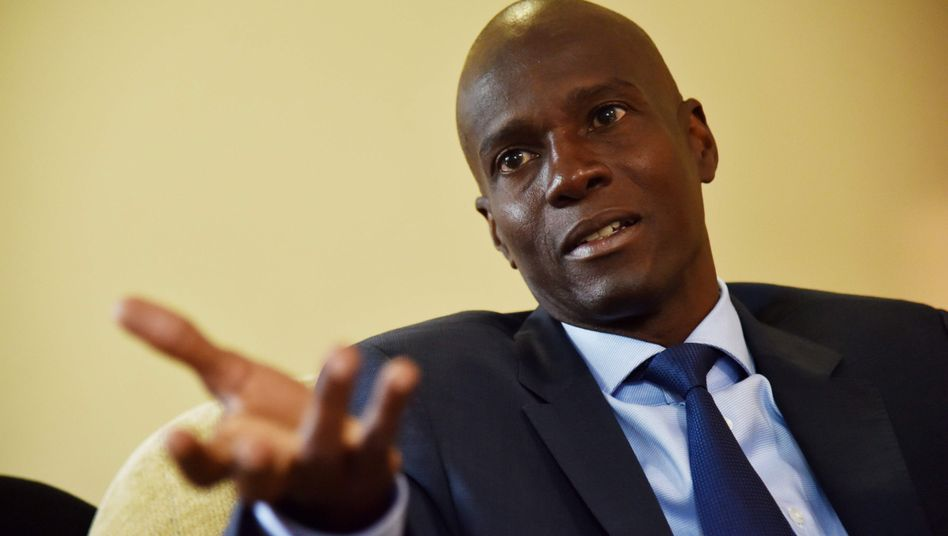 Haitis Präsident Jovenel Moise