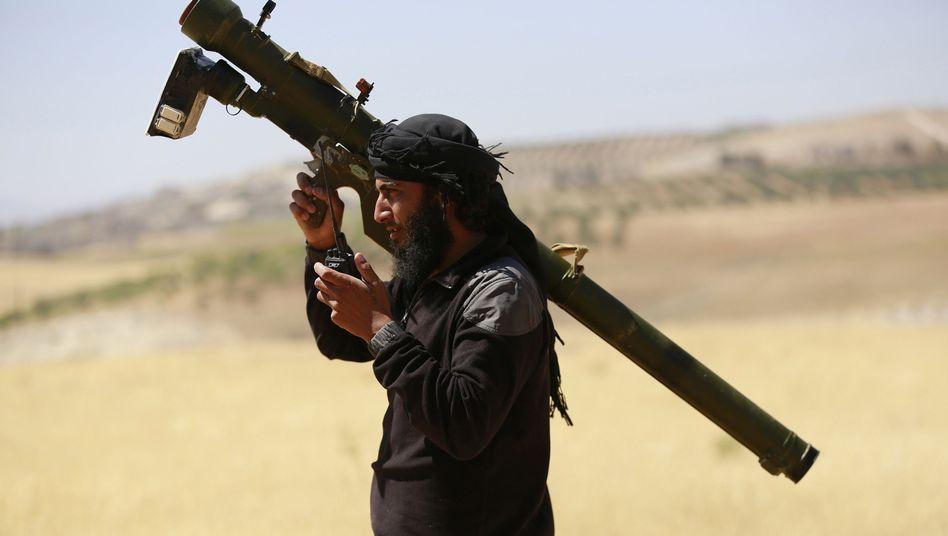 Nusra-Kämpfer in Syrien: Forderungen gestellt