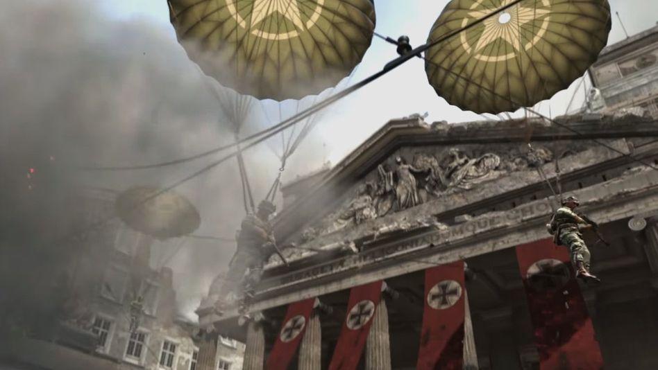 "Szene aus ""Call of Duty: WWII"""
